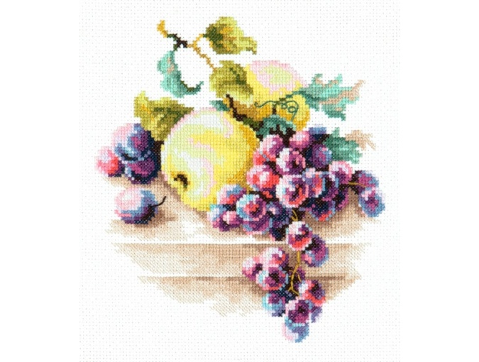 Grapes and Apples Cross Stitch Kit фото 1