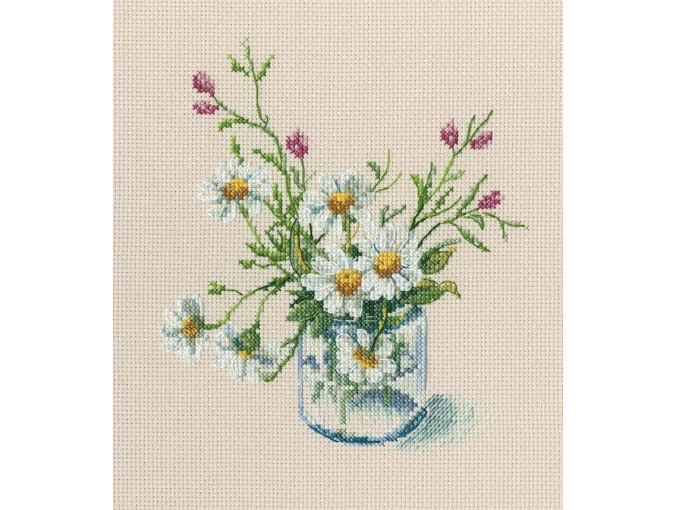 Warm Peace of the Bloomy Summer 3 Cross Stitch Kit фото 1