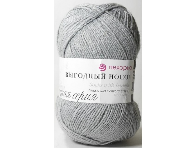 Pekhorka Socks with benefits, 40% Wool, 60% Acrylic 5 Skein Value Pack, 500g фото 6