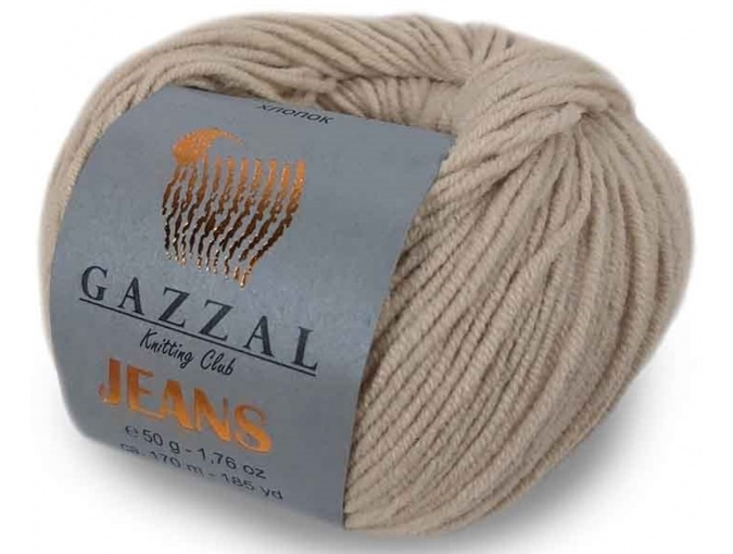 Gazzal Jeans, 58% Cotton, 42% Acrylic 10 Skein Value Pack, 500g фото 15