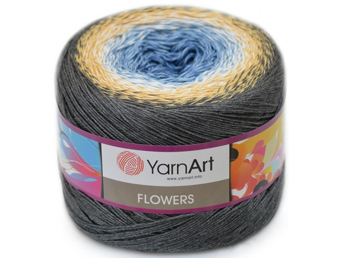 YarnArt Flowers, 55% Cotton, 45% Acrylic, 2 Skein Value Pack, 500g фото 71