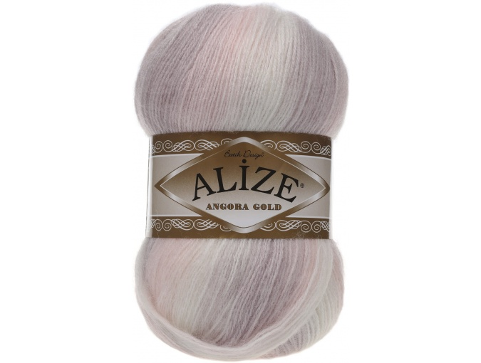 Alize Angora Gold Batik, 10% mohair, 10% wool, 80% acrylic 5 Skein Value Pack, 500g фото 57