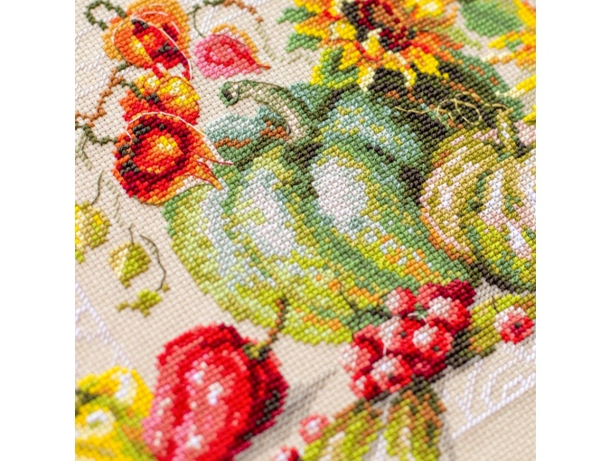 Autumn Gifts Cross Stitch Kit фото 6