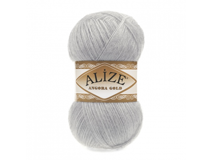 Alize Angora Gold, 10% Mohair, 10% Wool, 80% Acrylic 5 Skein Value Pack, 500g фото 5