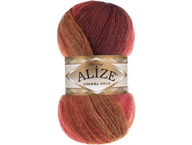 Alize Angora Gold Batik, 10% mohair, 10% wool, 80% acrylic 5 Skein Value Pack, 500g фото 60