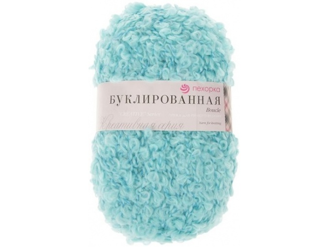 Pekhorka Boucle, 30% Mohair, 20% Wool, 50% Acrylic, 5 Skein Value Pack, 1000g фото 12
