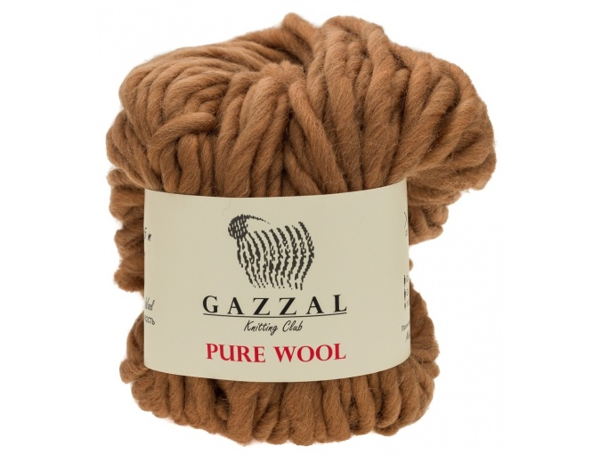Gazzal Pure Wool-4, 100% Australian Wool, 4 Skein Value Pack, 400g фото 2