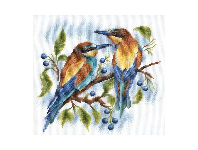 Bright Birds Cross Stitch Kit фото 1