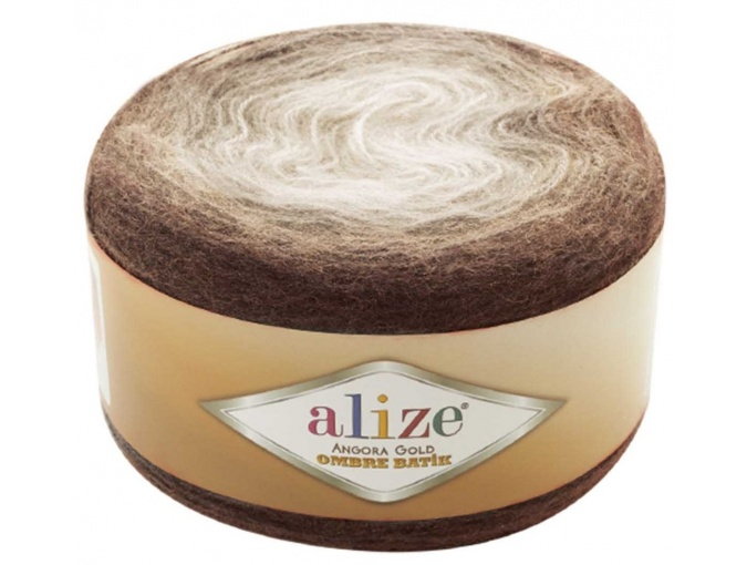 Alize Angora Gold Ombre Batik, 20% Wool, 80% Acrylic 4 Skein Value Pack, 600g фото 3