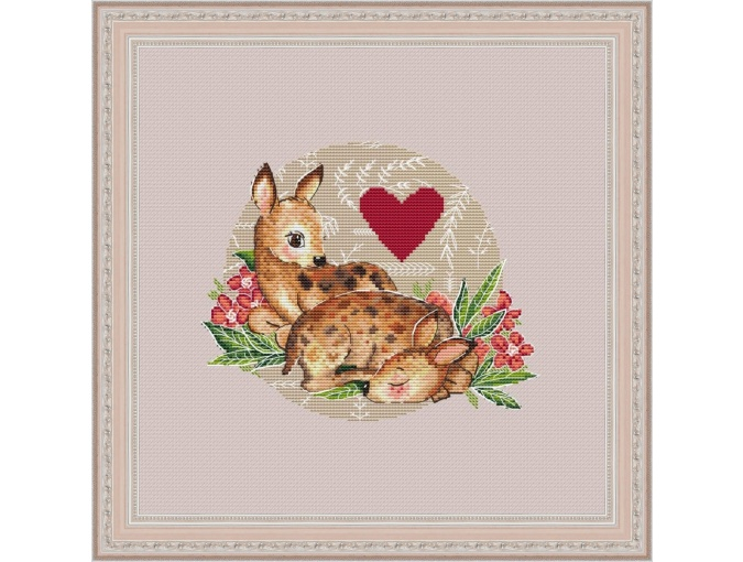 I Guard Your Dream Cross Stitch Pattern фото 1