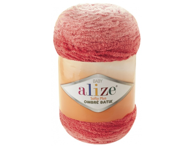 Alize Softy Plus Ombre Batik, 100% Micropolyester 1 Skein Value Pack, 500g фото 5