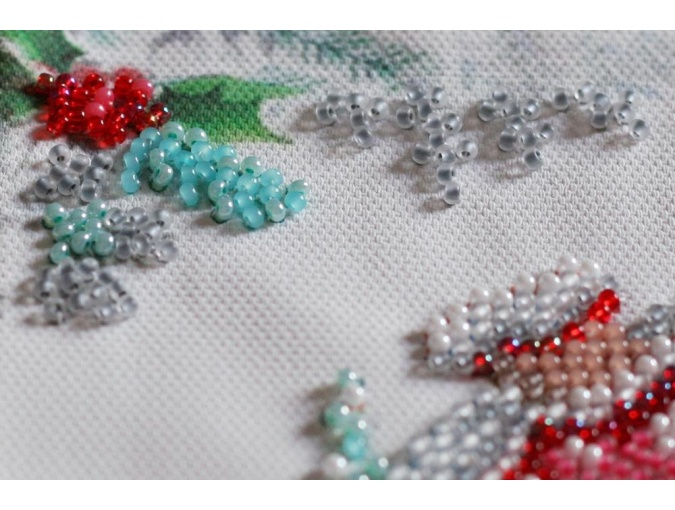 Winter Magic Bead Embroidery Kit фото 5