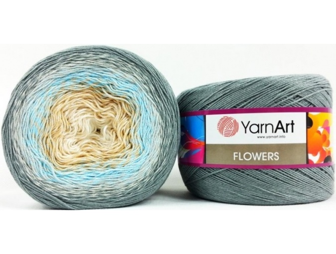 YarnArt Flowers, 55% Cotton, 45% Acrylic, 2 Skein Value Pack, 500g фото 37