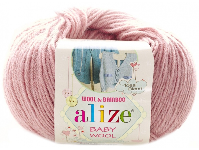 Alize Baby Wool, 40% wool, 20% bamboo, 40% acrylic 10 Skein Value Pack, 500g фото 20