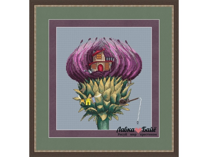 Fairy World. Thistle Cross Stitch Pattern фото 1
