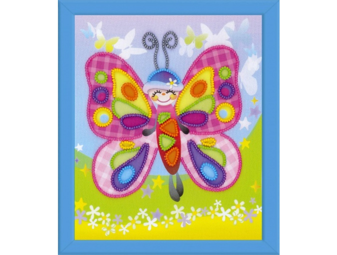 Fairy Butterfly Bead Embroidery Kit фото 1