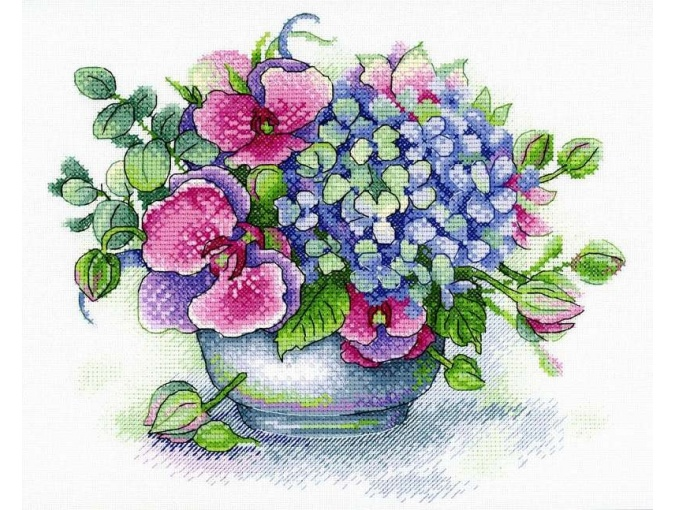 Bouquet of Memories Cross Stitch Kit фото 1