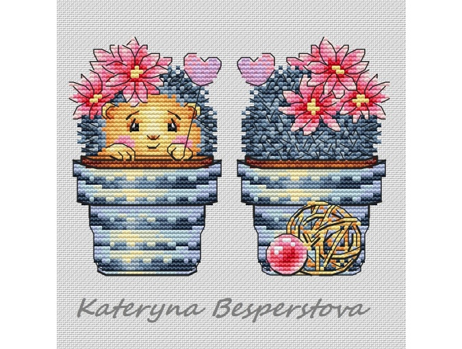 Miracle in a Pot Cross Stitch Pattern фото 1