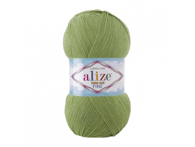 Alize Cotton Gold Fine 55% cotton, 45% acrylic 5 Skein Value Pack, 500g фото 1