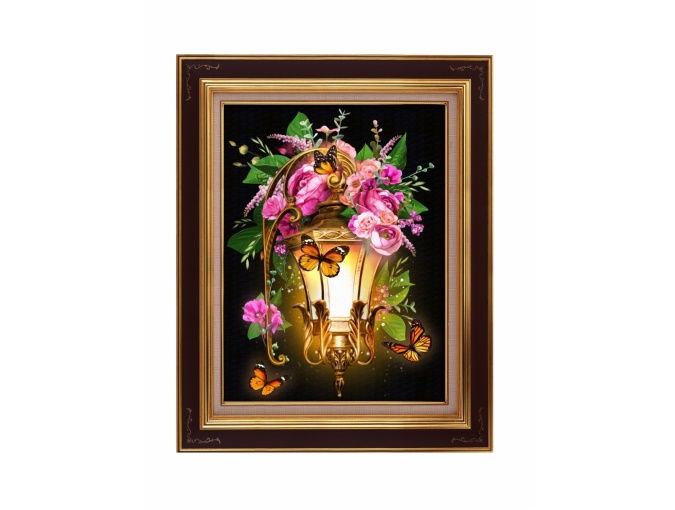 Rosehip Lamp Diamond Painting Kit фото 1