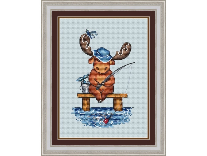 Elk Booklet. And Silence... Cross Stitch Pattern фото 1
