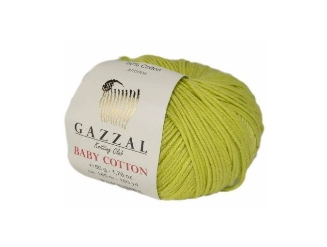 Gazzal Baby Cotton, 60% Cotton, 40% Acrylic 10 Skein Value Pack, 500g фото 96