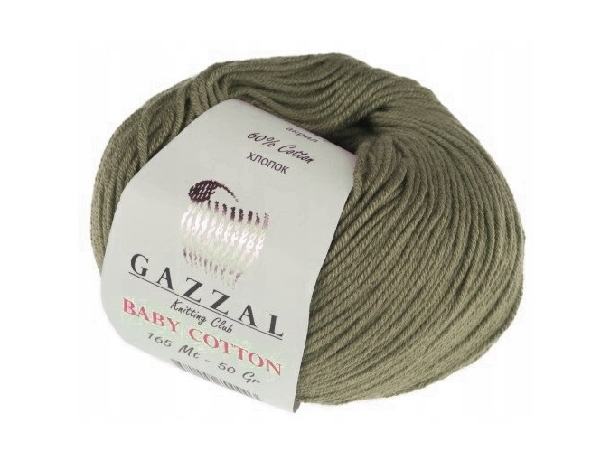 Gazzal Baby Cotton, 60% Cotton, 40% Acrylic 10 Skein Value Pack, 500g фото 110