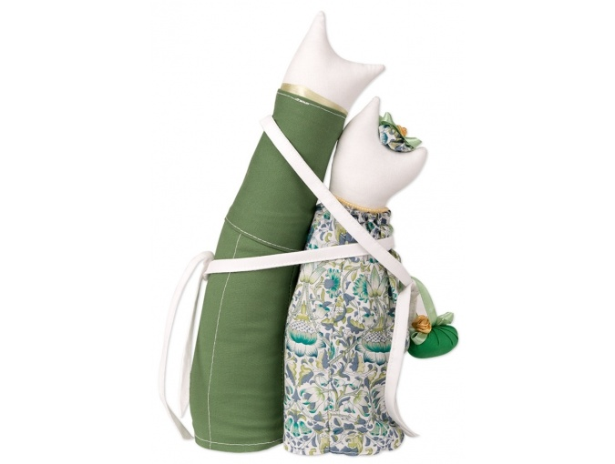 Jade Cat Couple Toy Sewing Kit фото 2