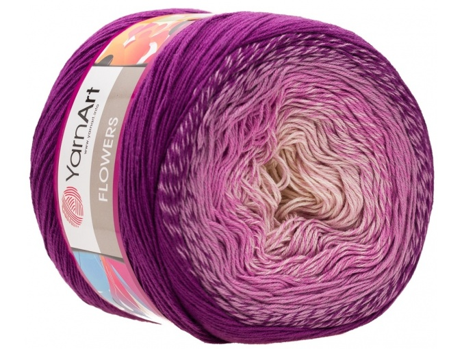 YarnArt Flowers, 55% Cotton, 45% Acrylic, 2 Skein Value Pack, 500g фото 75