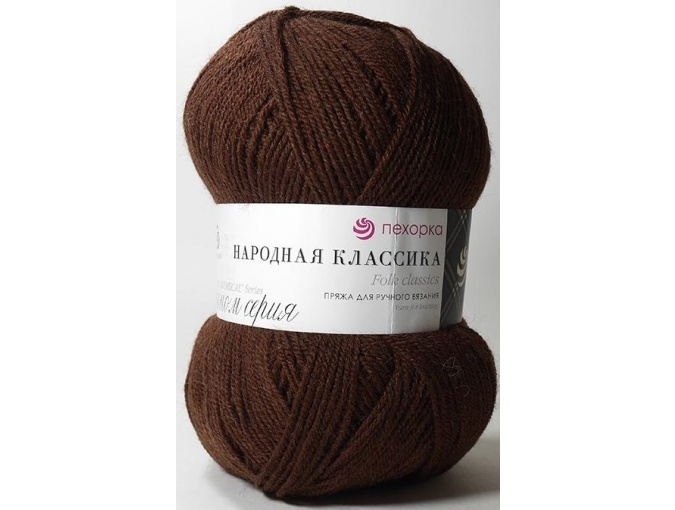Pekhorka Folk Classics, 30% Wool, 70% Acrylic 5 Skein Value Pack, 500g фото 32