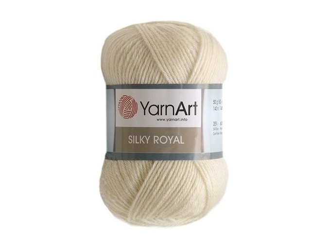 YarnArt Silky Royal 35% Silk Rayon, 65% Merino Wool, 5 Skein Value Pack, 250g фото 2