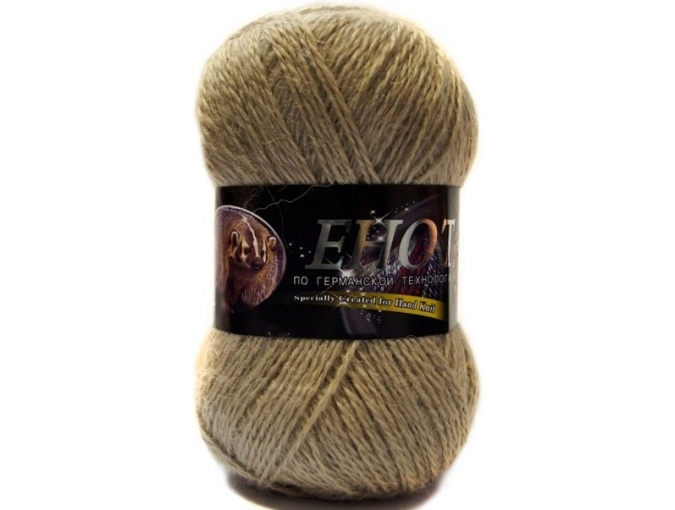 Color City Raccoon 60% Lambswool, 20% Raccoon Wool, 20% Acrylic, 10 Skein Value Pack, 1000g фото 21