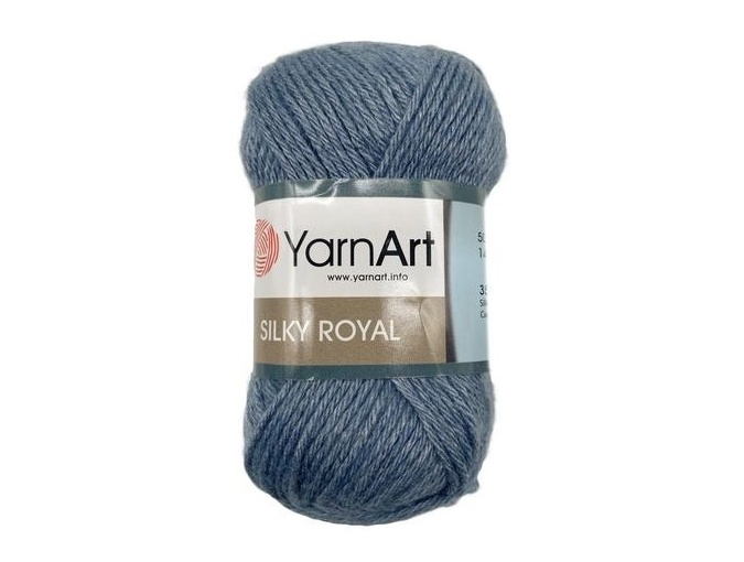 YarnArt Silky Royal 35% Silk Rayon, 65% Merino Wool, 5 Skein Value Pack, 250g фото 4