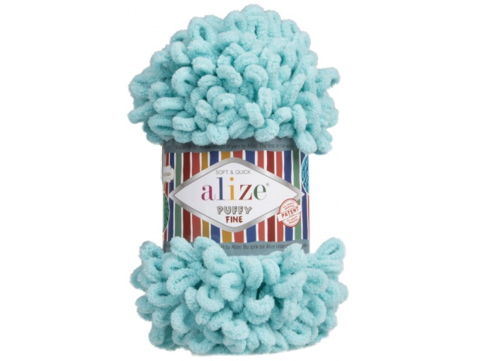 Alize Puffy Fine, 100% Micropolyester 5 Skein Value Pack, 500g фото 17