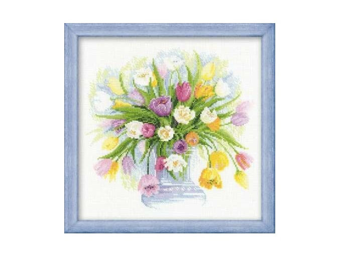 Tulips Cross Stitch Kit фото 1