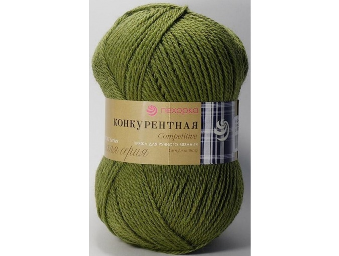 Pekhorka Competitive, 50% Wool, 50% Acrylic 10 Skein Value Pack, 1000g фото 17