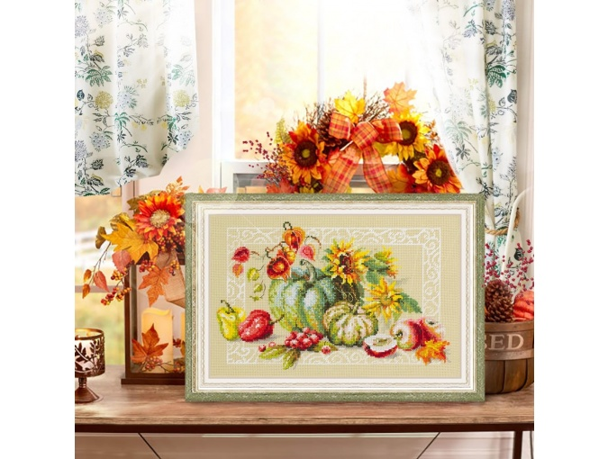 Autumn Gifts Cross Stitch Kit фото 3