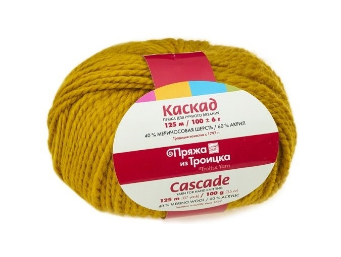 Troitsk Wool Cascade, 40% wool, 60% acrylic 10 Skein Value Pack, 1000g фото 15