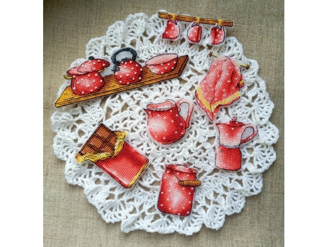 Delicious Moments Cross Stitch Pattern фото 2