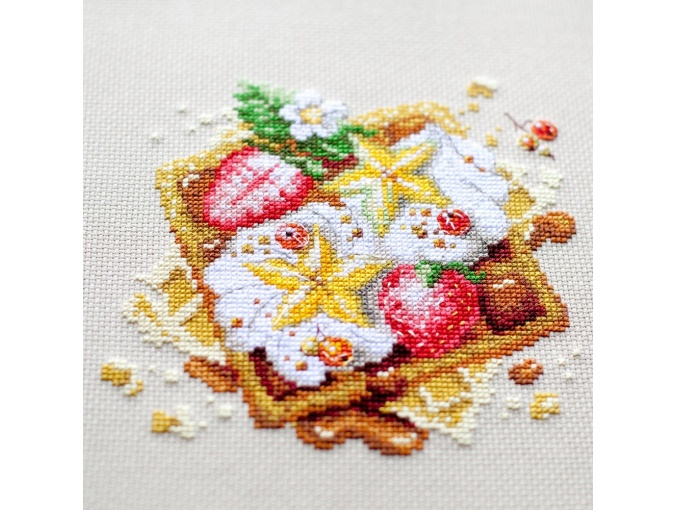 Viennese Waffles Cross Stitch Kit фото 10
