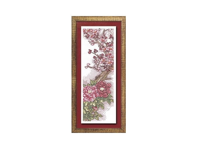 China in Bloom Cross Stitch Kit фото 1