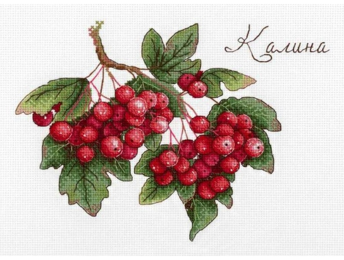 Gifts of Nature. Viburnum Cross Stitch Kit фото 1