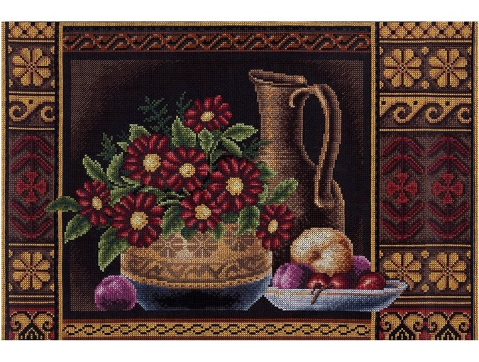 Flowers for Aphrodite Cross Stitch Kit фото 1