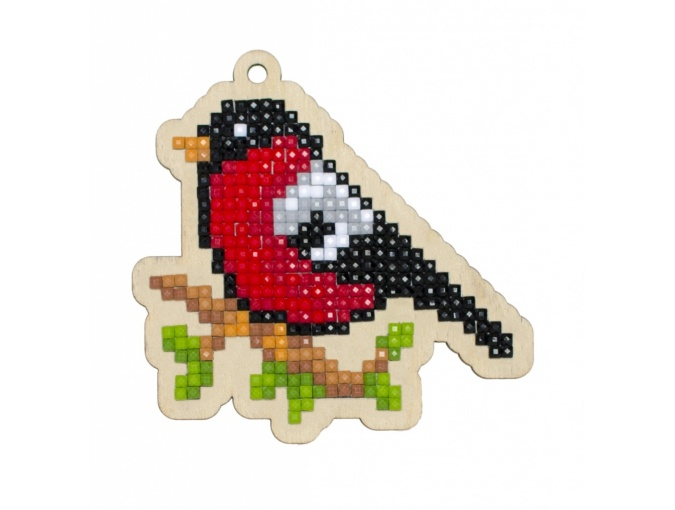 Bullfinch Pendant Diamond Painting Kit фото 1
