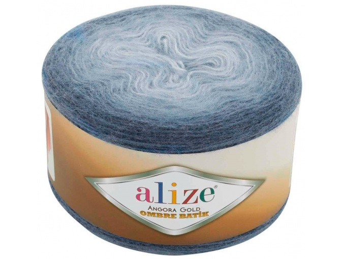 Alize Angora Gold Ombre Batik, 20% Wool, 80% Acrylic 4 Skein Value Pack, 600g фото 19
