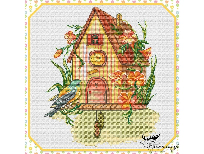 Spring Story Cross Stitch Pattern фото 1