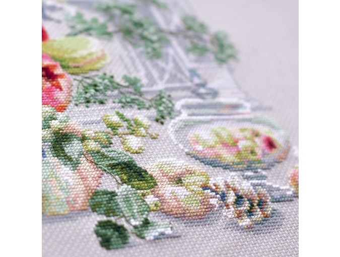 Winter Improvisation Cross Stitch Kit фото 7