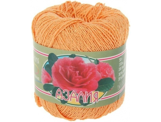 Kirova Fibers Azalea, 30% cotton, 70% viscose 4 Skein Value Pack, 200g фото 20