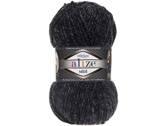 Alize Superlana Midi 25% Wool, 75% Acrylic, 5 Skein Value Pack, 500g фото 43