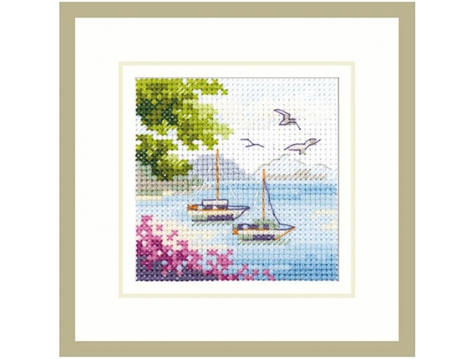 Sea View Cross Stitch Kit фото 1